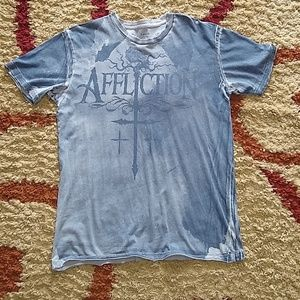 Mens affliction t-shirt